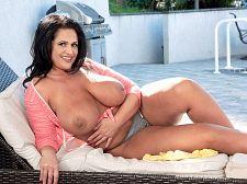 Kailani Kai's tits in tight tops show