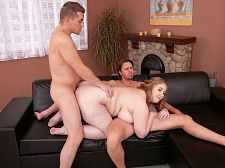 A Three-way Anal Party For Tessa Orlov