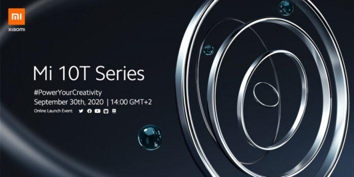 Xiaomi introducerar Mi 10T-serien 30 september