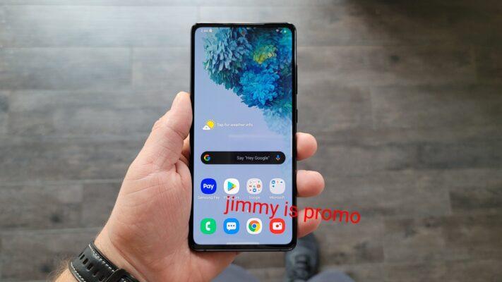 Video visar upp Samsung Galaxy S20 Fan Edition