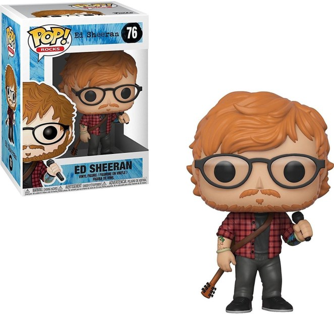 Image result for ed sheeran funko pop