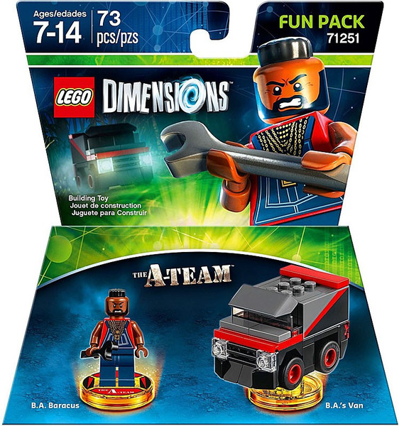 LEGO Dimensions Adventure Time Marceline Lunatic Amp Exclusive Fun     LEGO Dimensions A Team B A  Baracus   Van Fun Pack  71251