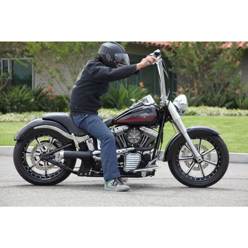 Roland Sands 1 4 King Ape Hangers Handlebars For Harley Get