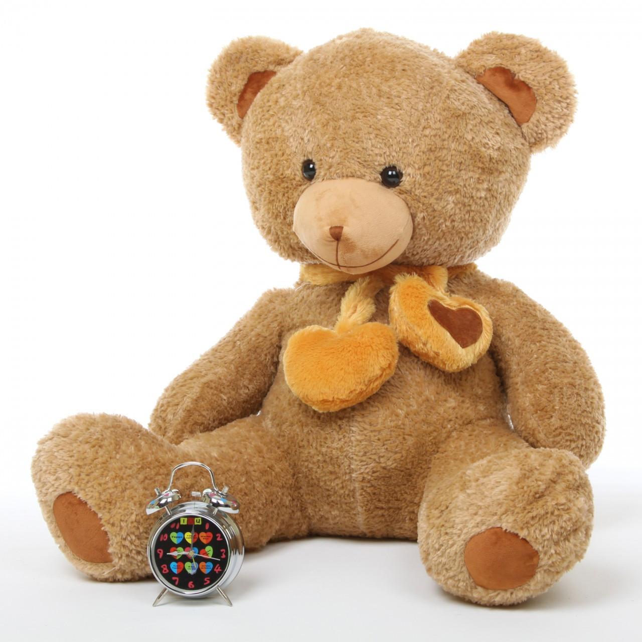 Cupid Hugs 36 Amber Cute Big Stuffed Teddy Bear Giant
