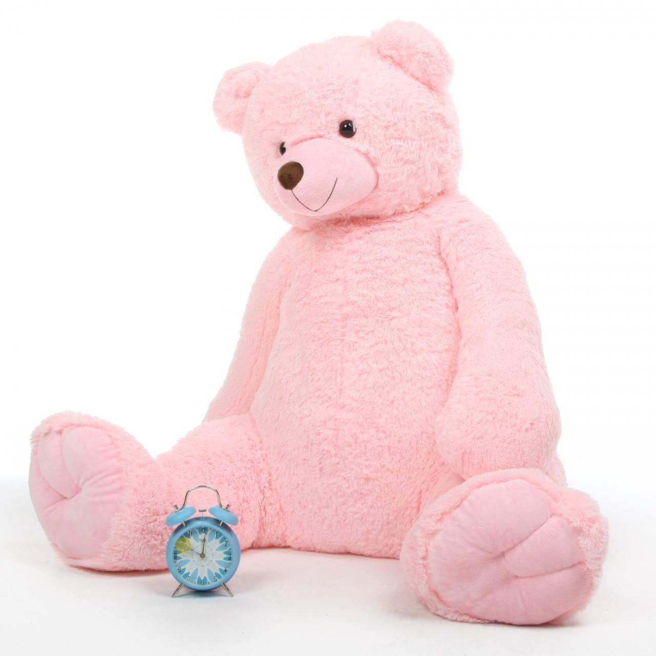 Darling Tubs 52 Pink Huge Stuffed Teddy Bear Giant