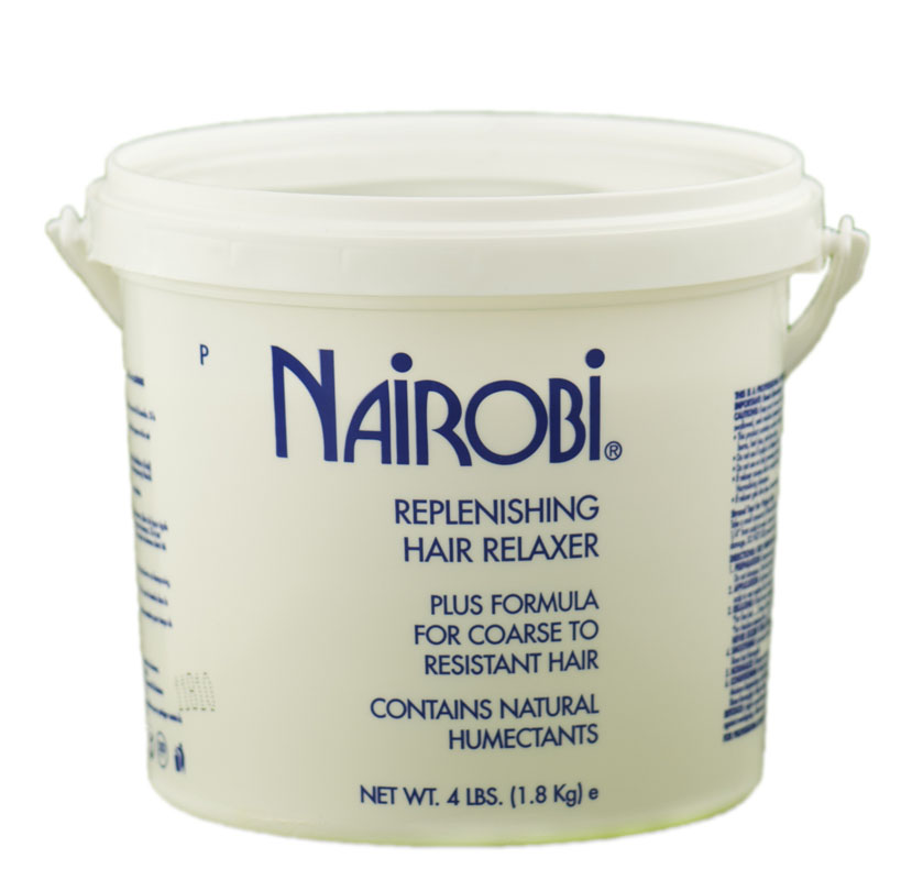 Nairobi Replenishing Hair Relaxer Plus Formula for coarse to resistant hair