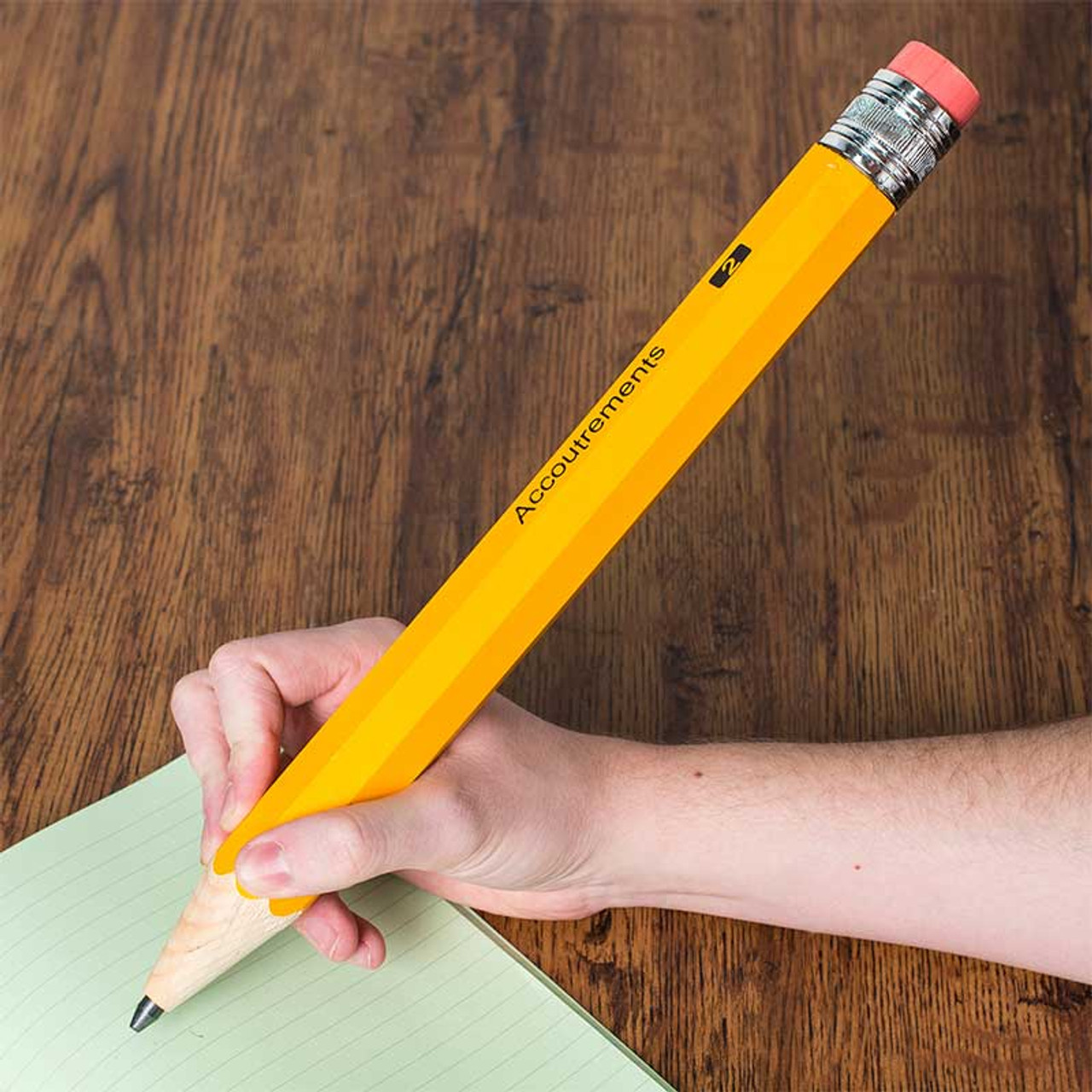 Giant Wooden Pencil In Weird Pens Pencils Gifts By Archie McPhee