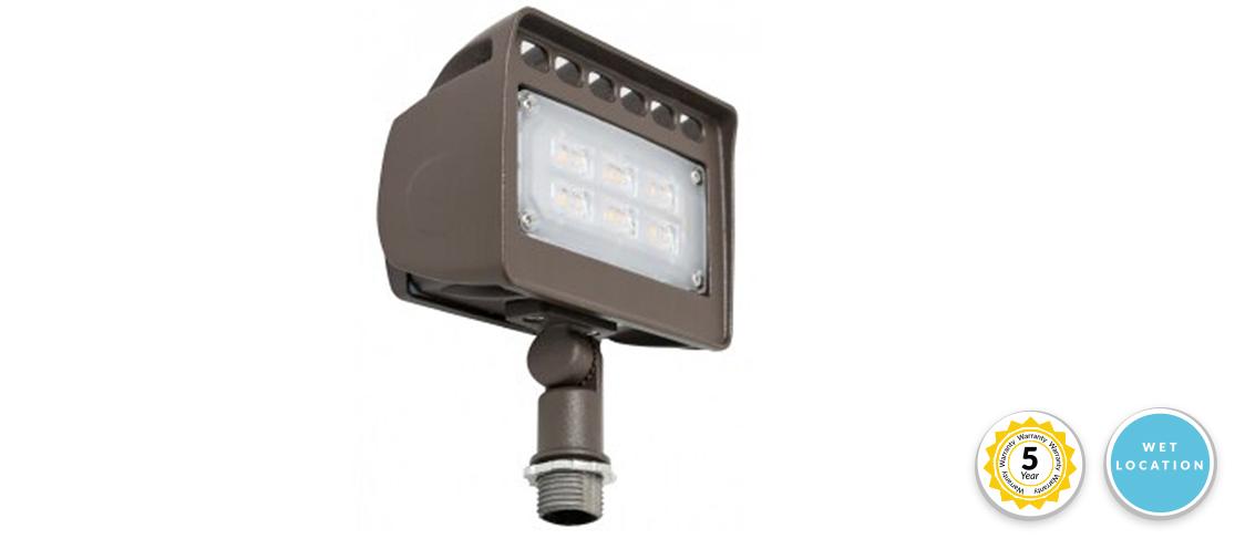 12 volt low voltage led landscape flood light 12v 30w 2700 lumens 5000k daylight