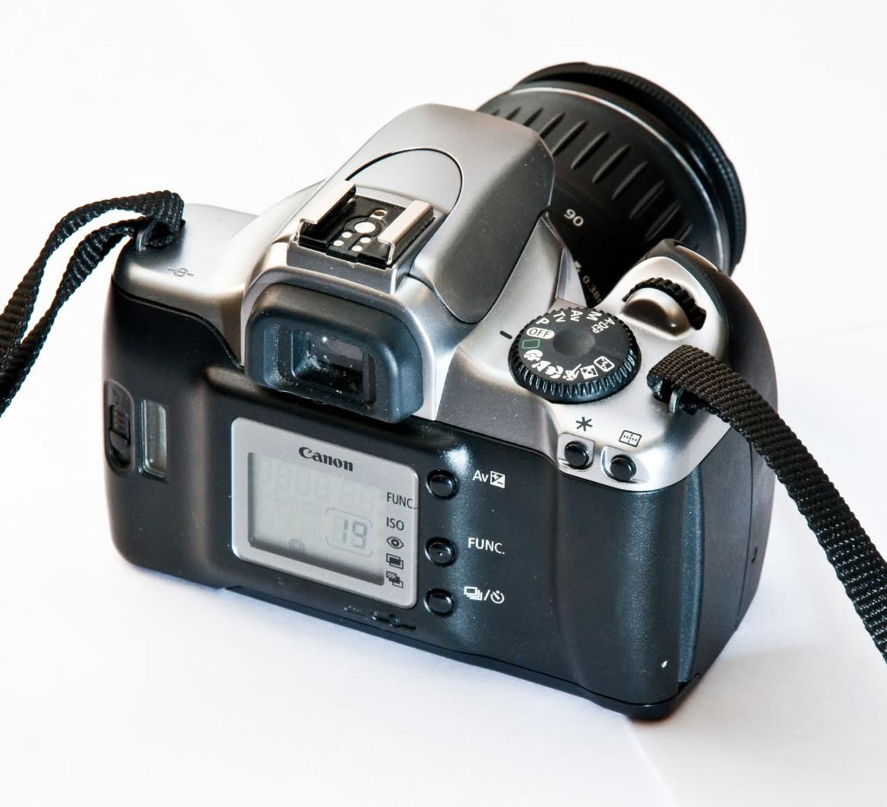 Canon EOS Rebel K2 SLR 35mm Film Camera (3580mm lens