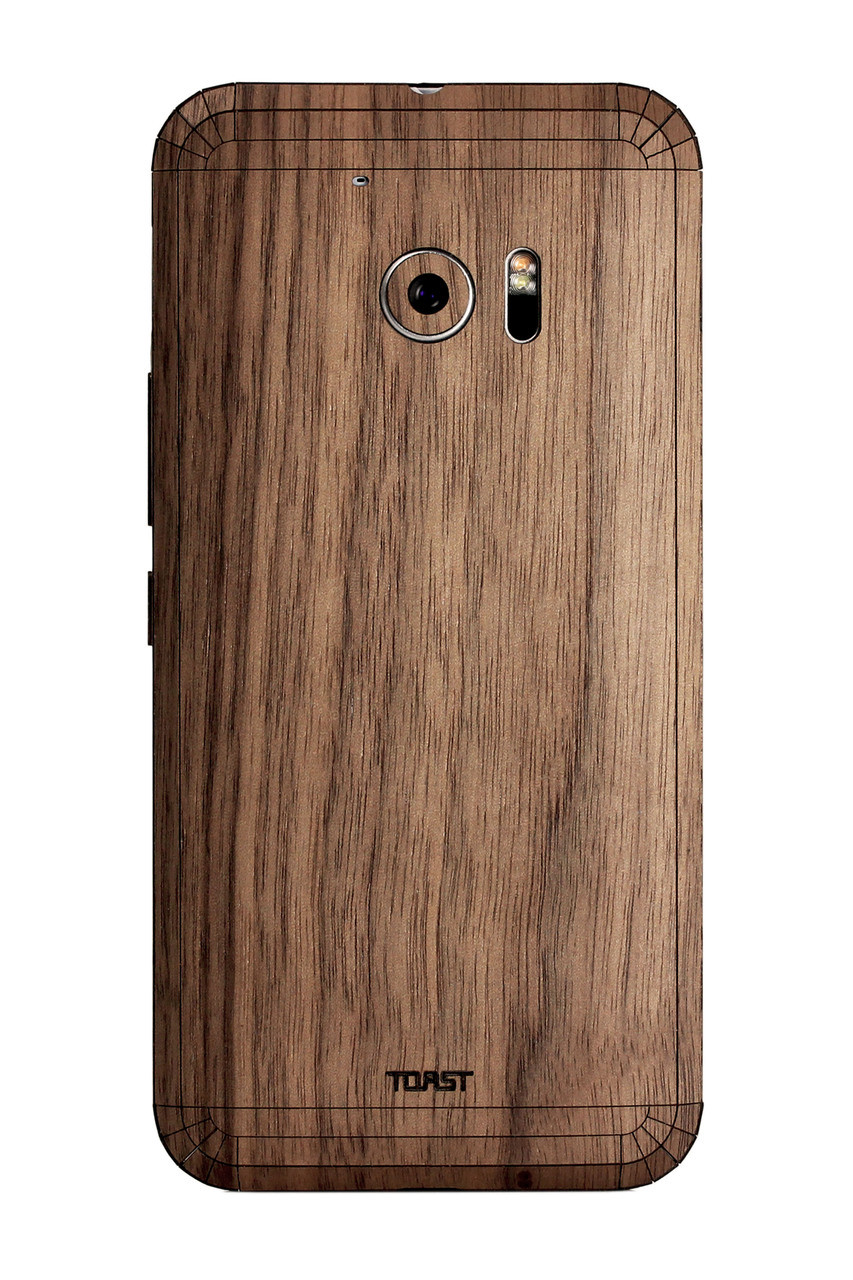 HTC 10 wood cover  Toast