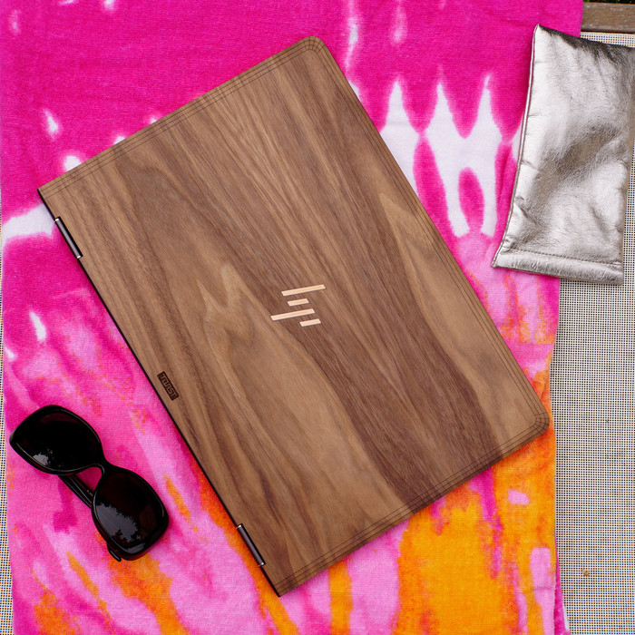 HP Spectre x360 Laptop Cover, Real Wood