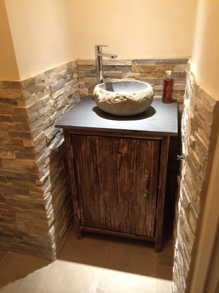 Slate Top Wash Stand DRIFTWOOD INTERIORS