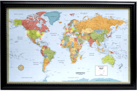 Rand mcnally signature series world map path decorations pictures rand mcnally world map madriver me in wapsi info gallery of m series united states laminated x rand mcnally within world map vintage rand mcnally world wall gumiabroncs Gallery
