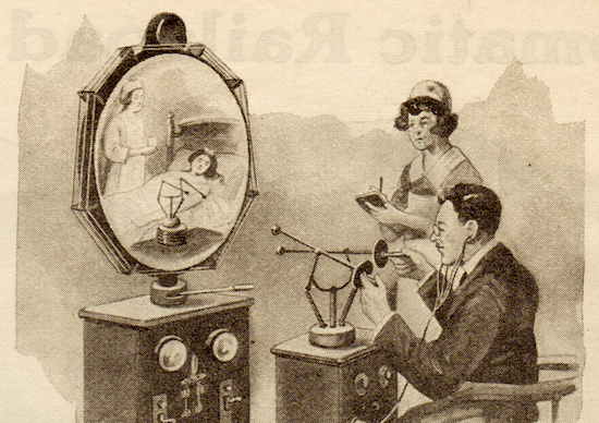 teledactyl 1 • Sci-Fi Pioneer Hugo Gernsback Predicts Telemedicine in 1925 Health, Sci Fi, Technology
