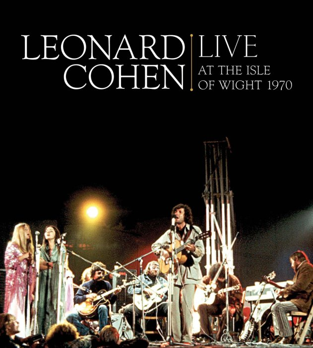 Image result for Leonard Cohen: Live at the Isle of Wight 1970 movie poster