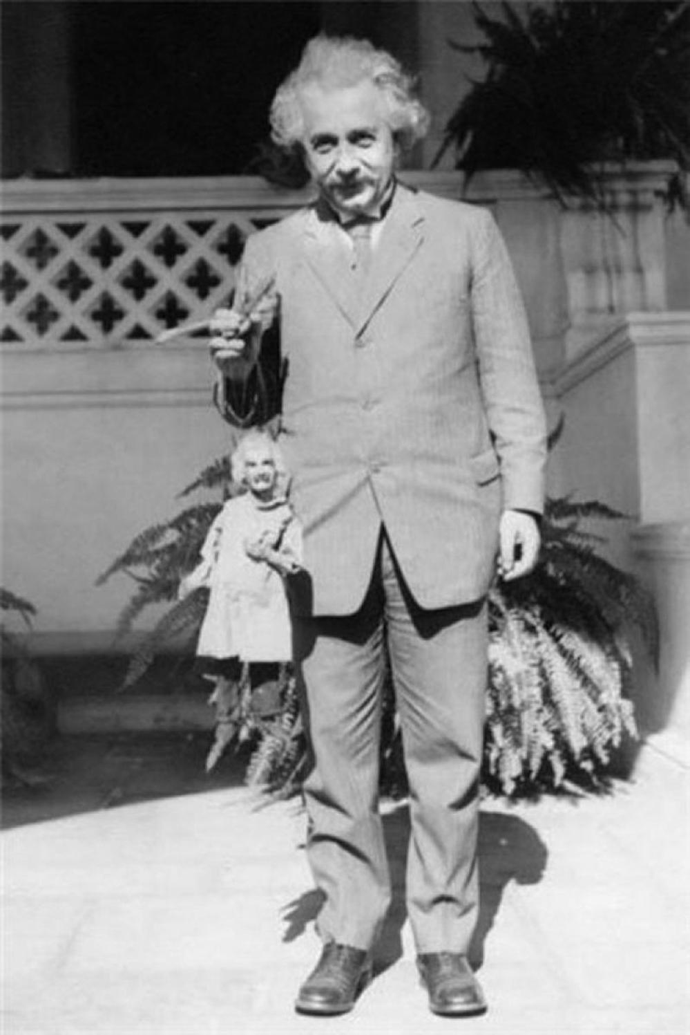 Fascinating Historical Picture of Albert Einstein in 1931