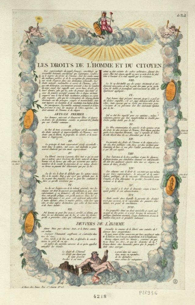 droits de lhomme