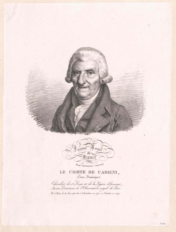 Cassini, Jean Dominique Comte de - PICRYL Public Domain Image