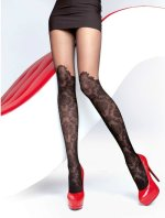 Ciorapi cu model Fiore Taya 20 den