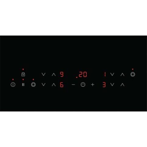 Plita incorporabila AEG HK634021XB, vitroceramica, 4 zone de gatit, negru