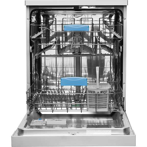Masina de spalat vase independenta SHARP QW-GT21F472A, 13 seturi, 8 programe, 60 cm, clasa A++, inox