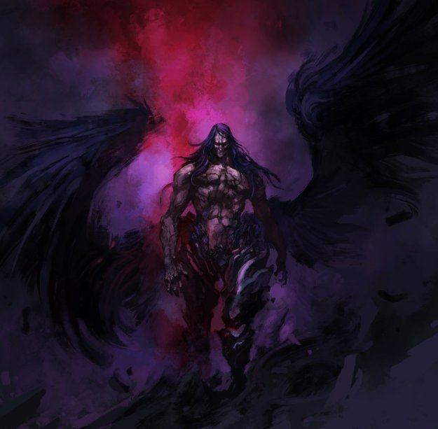 Castlevania Lords of Shadow 2 Satan Concept Art