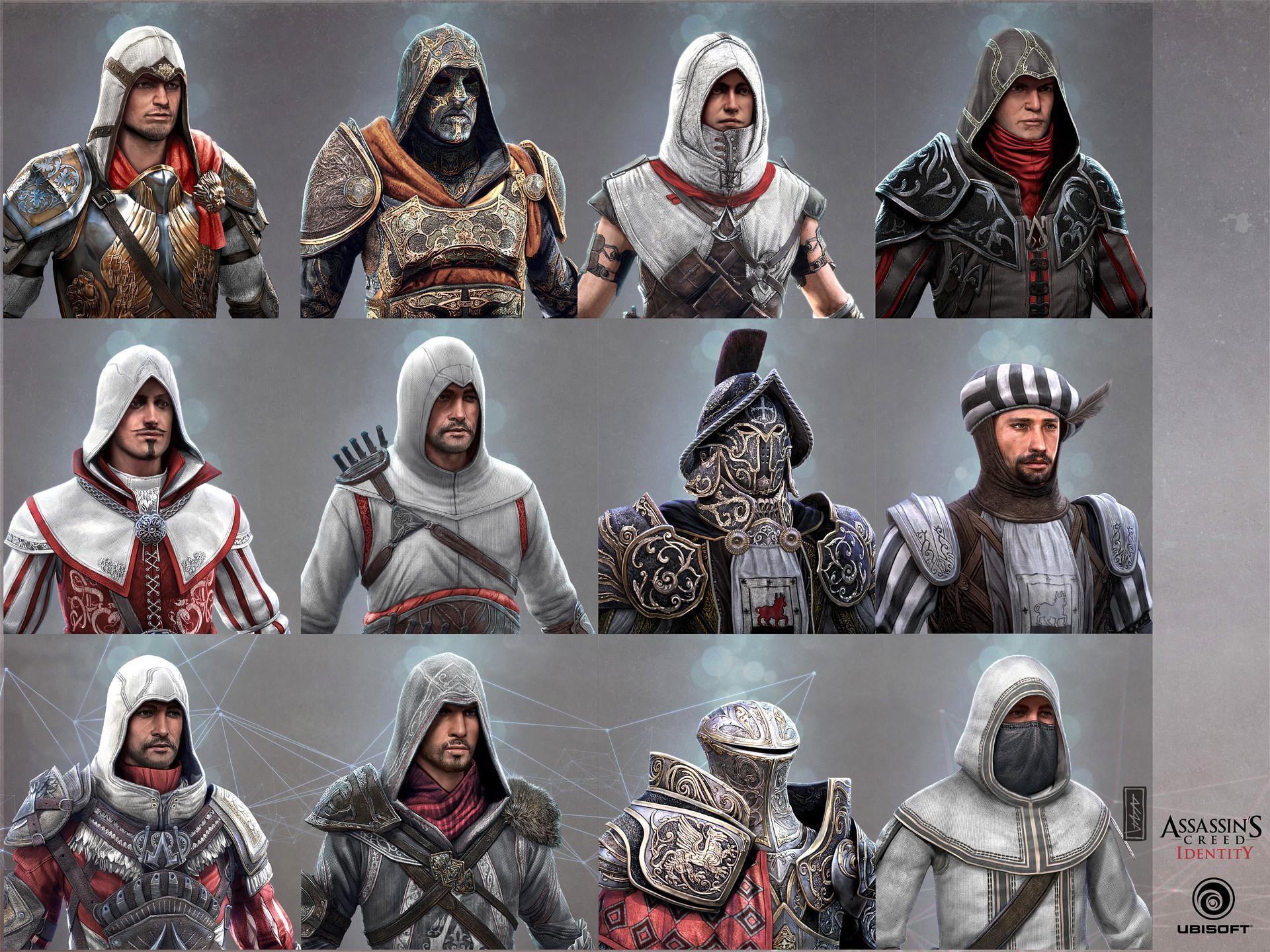 ArtStation - Assassin's Creed Identity Portraits, Andi Drude
