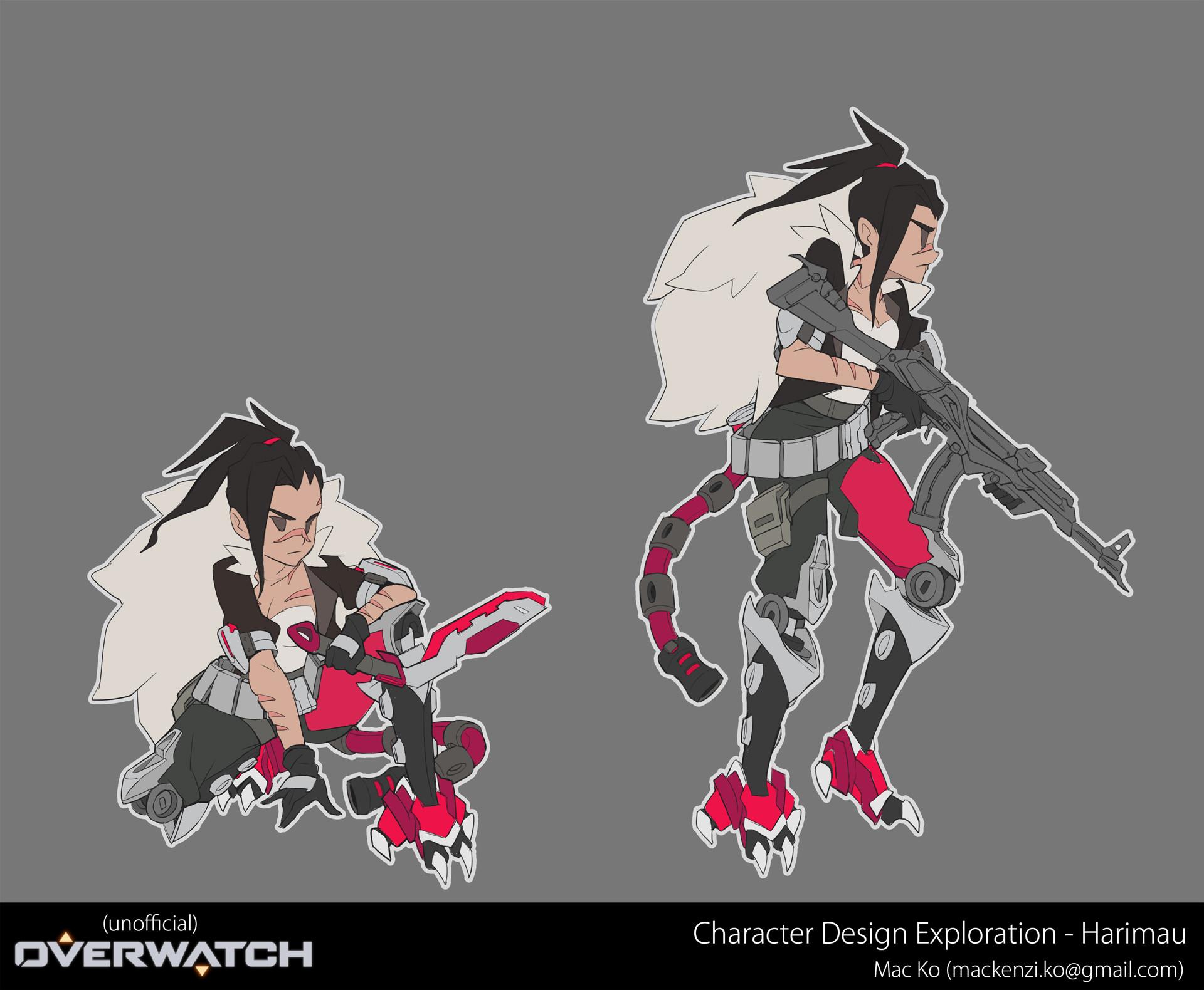 ArtStation Overwatch Original Character Concept