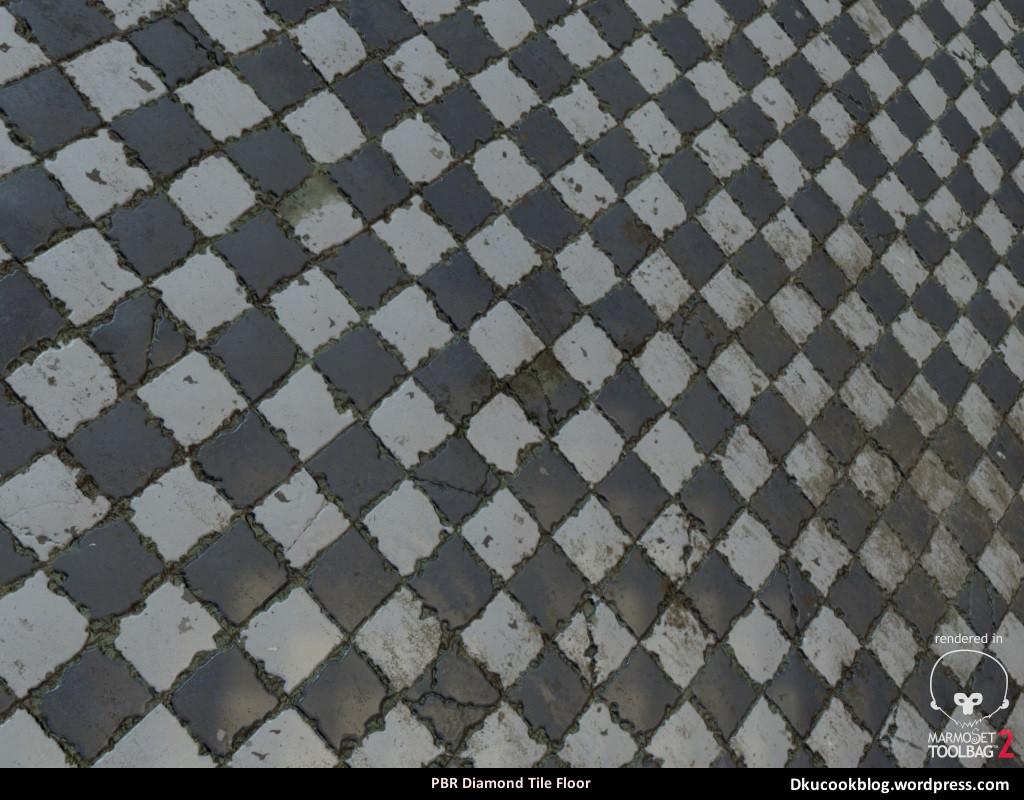 prb diamond tile floor daniel cook
