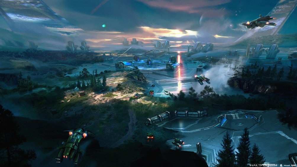 Halo Wars 2 Concept Art