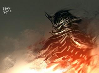 Toshiyami, void incarnate.