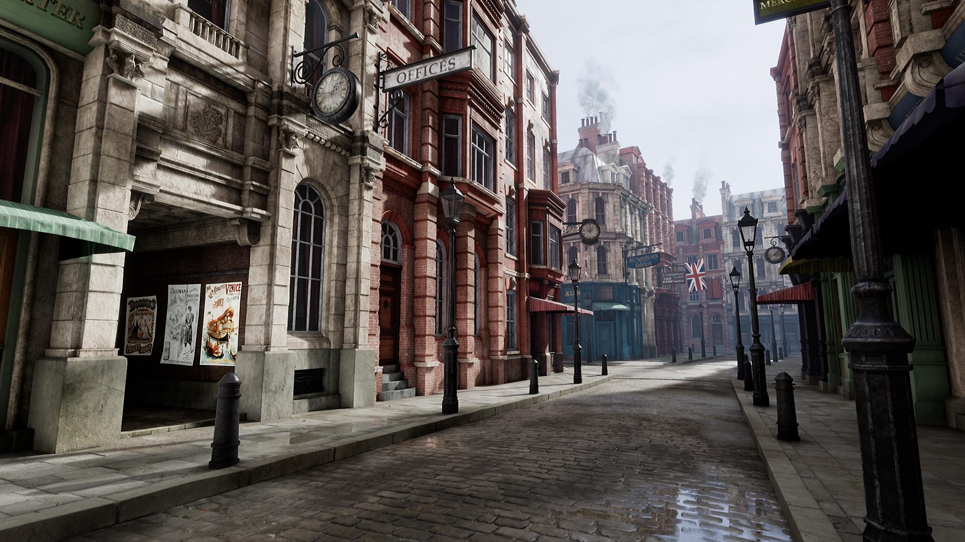 Richard Vinci   3D Environment Artist - Victorian Street