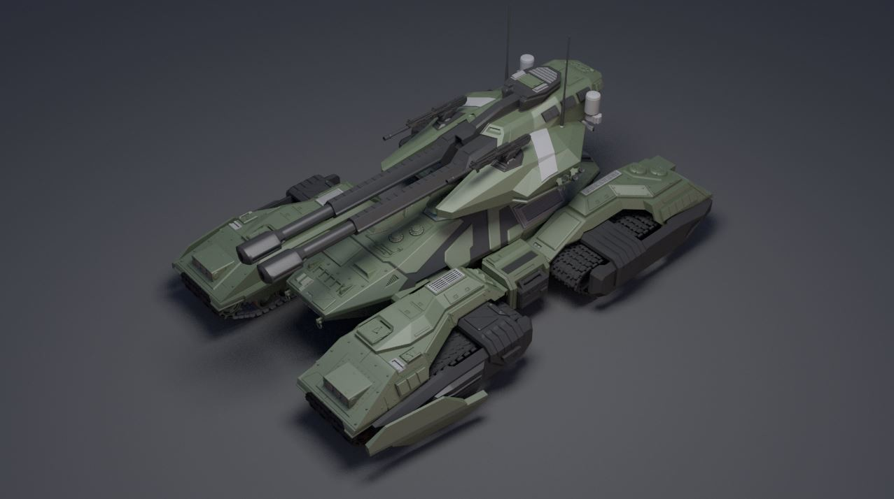 Halo Wars Unsc Spirit Of Fire Colony Cruiser Free 3d Model