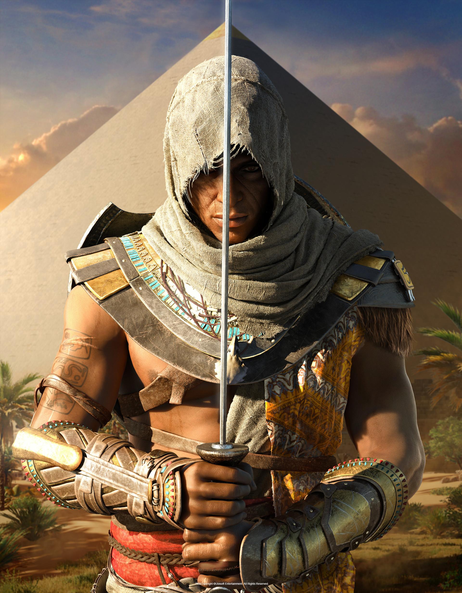 ArtStation - Assassin's Creed Origins - Bayek Magazine ...