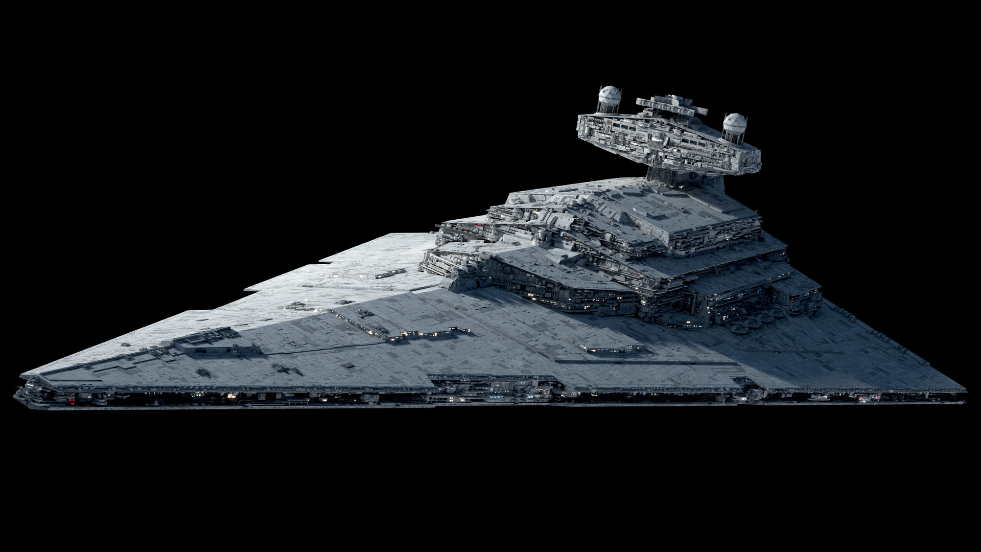 Artstation Imperial Star Destroyer Redux Wip 5 Ansel Hsiao