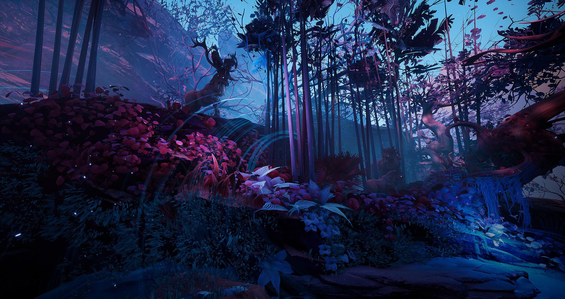 ArtStation - Mystic Forest Study UE4, Tyler Smith