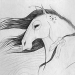 Melodie Peries Character Design And Horse Posings
