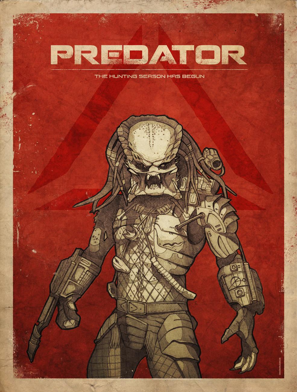 predator movie poster ruben megido