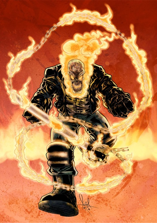 Ghost Rider Blazes Into D&D 5th Edition! – Building character!