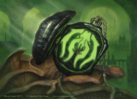 Image result for golgari locket art