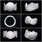 Artstation Custom White Lantern Ring Brendon Burke