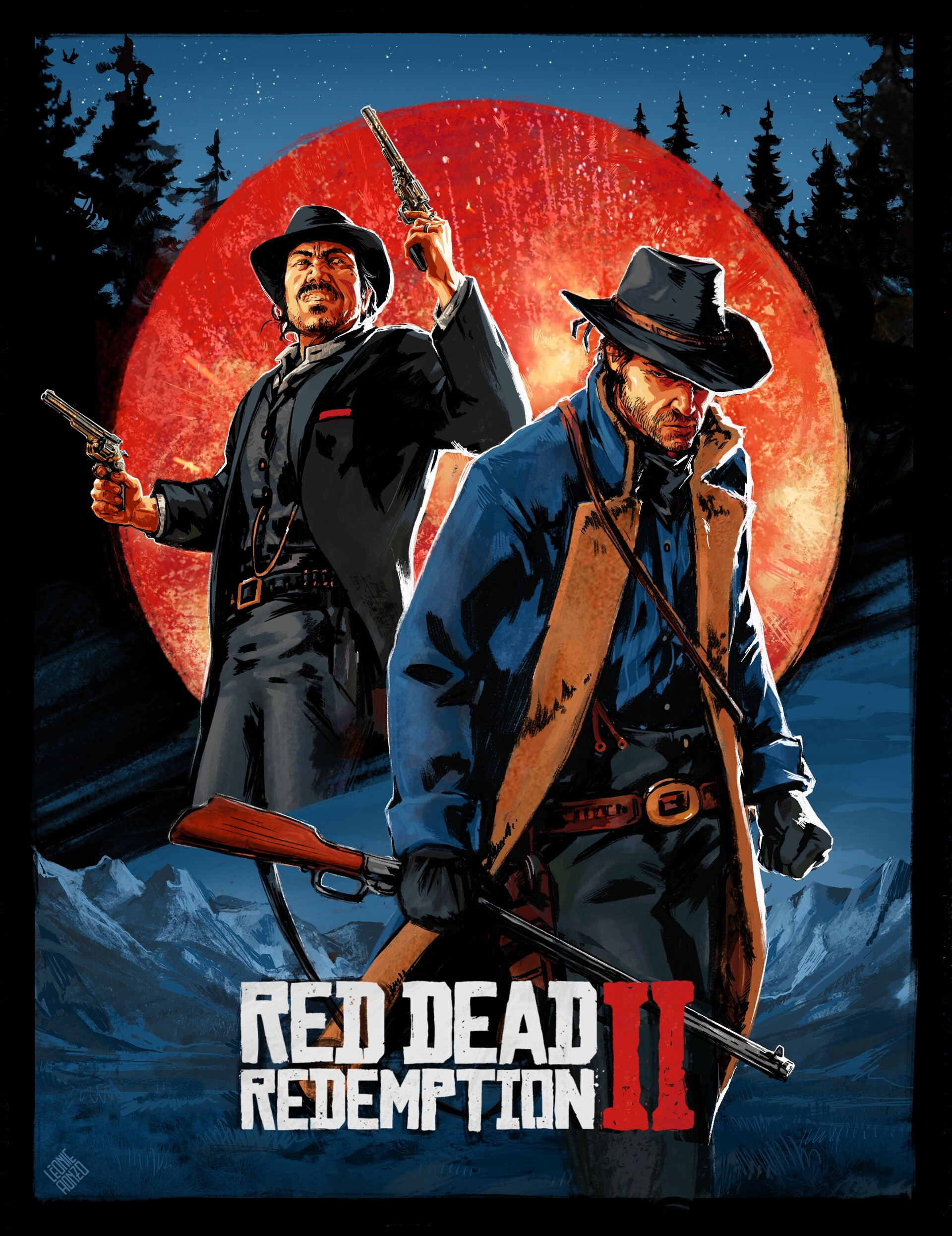 red dead redemption posters and fanart