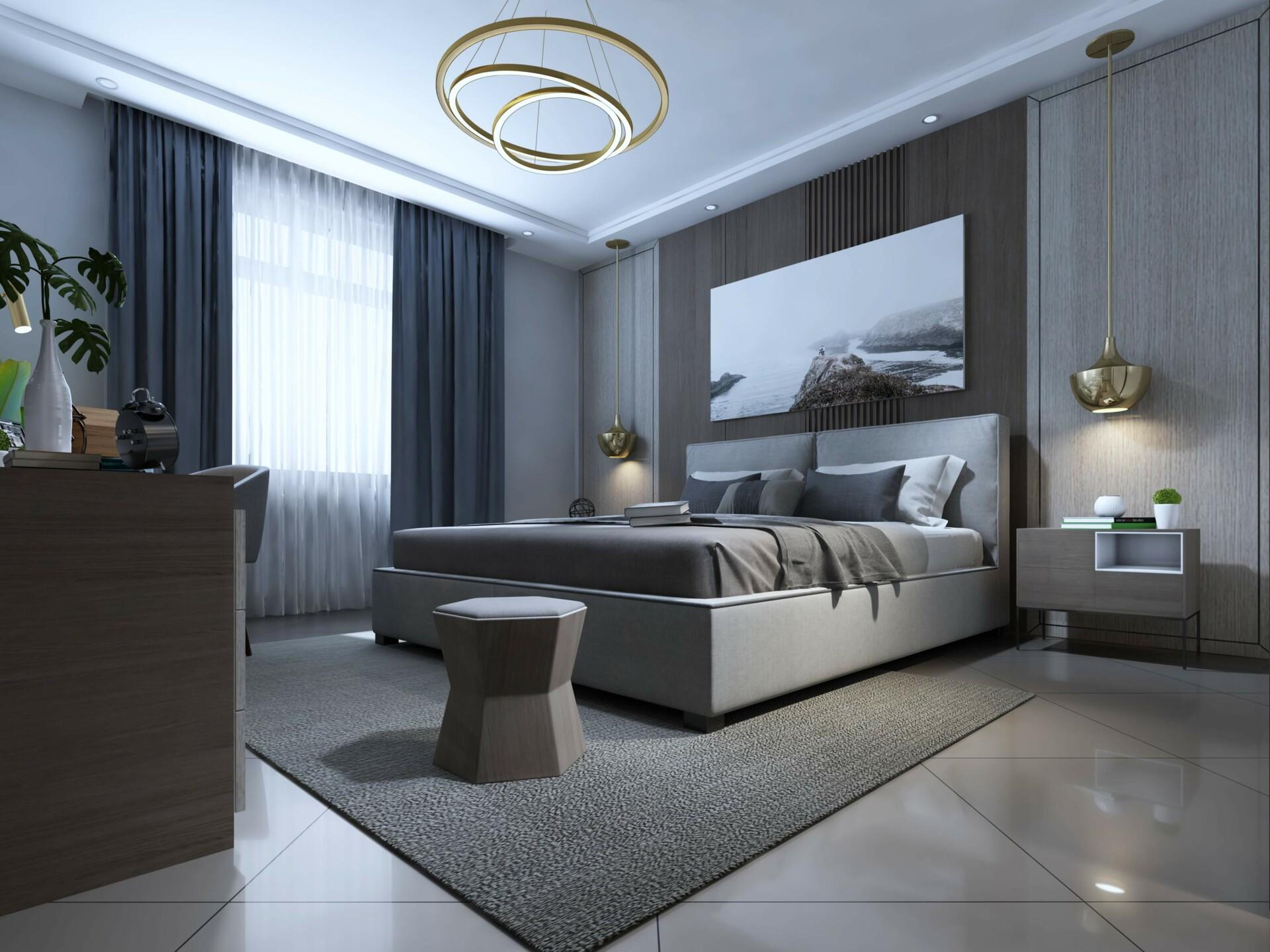 ArtStation - Modern Bedroom, RenderHub 3D Models on Model Bedroom Design  id=18612