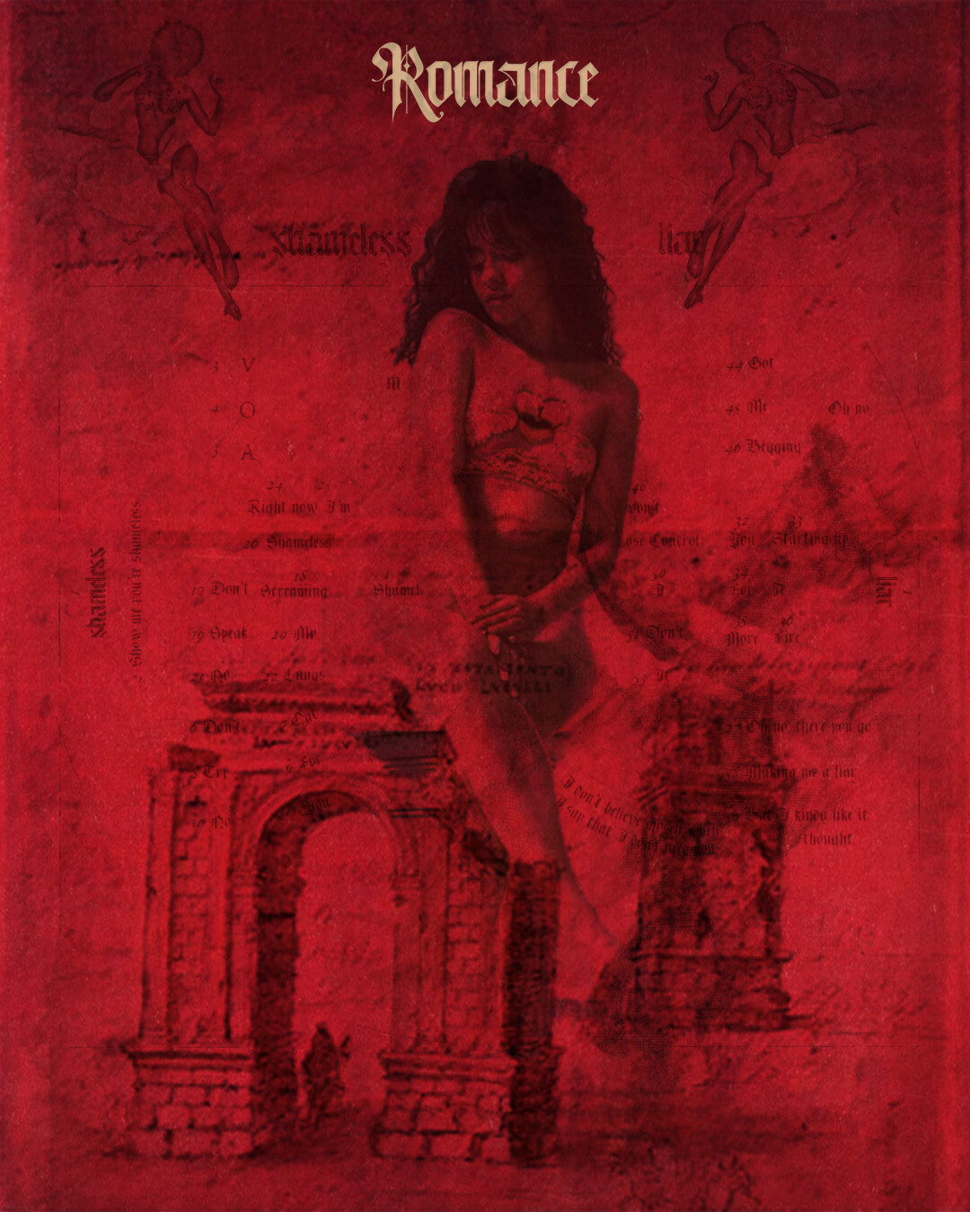 camilla cabello romance poster inspired