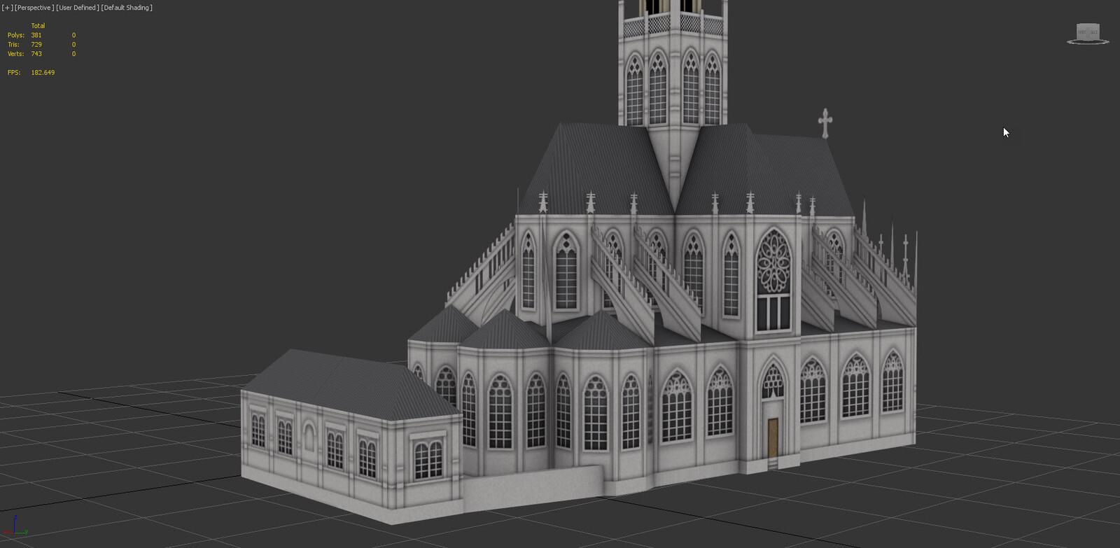 artstation saint maclou church rouen