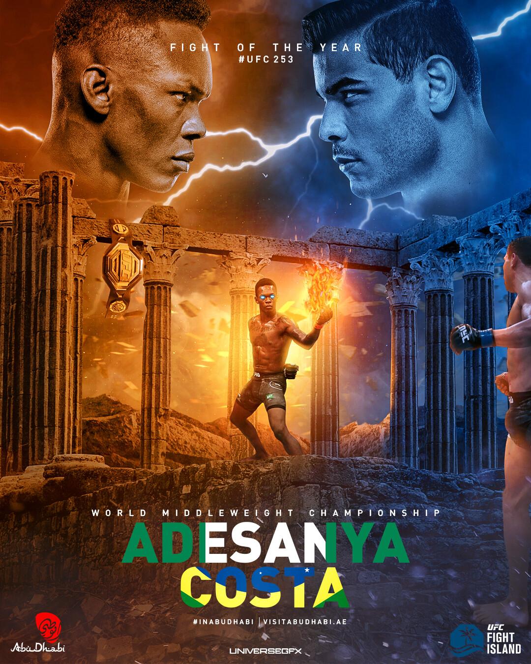 israel adesanya vs paulo costa fight