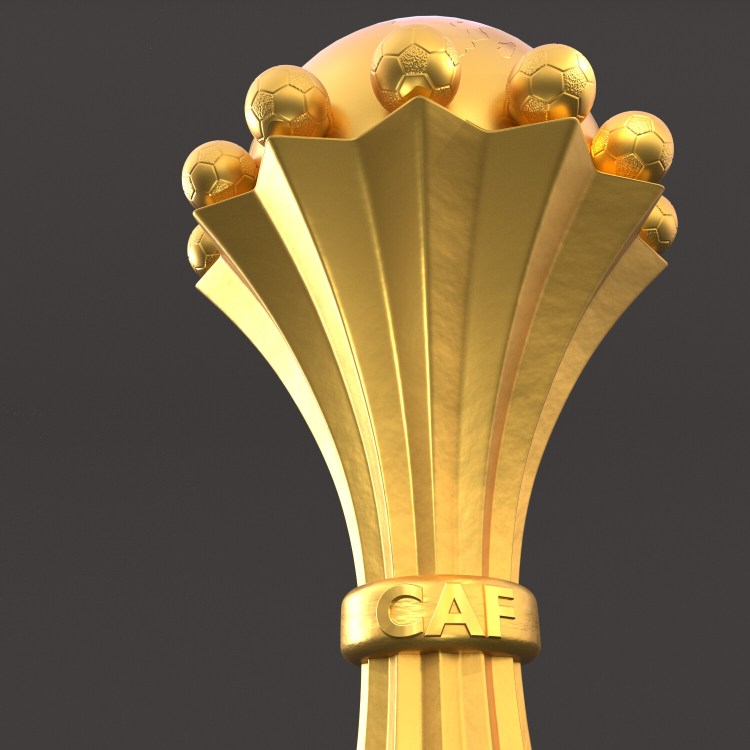 ArtStation - Africa cup, CAF Champions League 3D Model ...