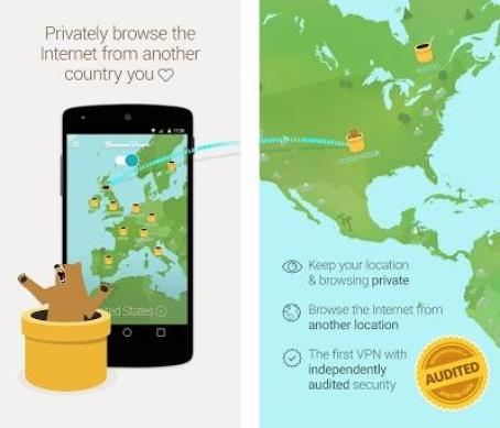 TunnelBear: Virtual Private Network & Security APK Download for Windows - Latest version 3.5.14