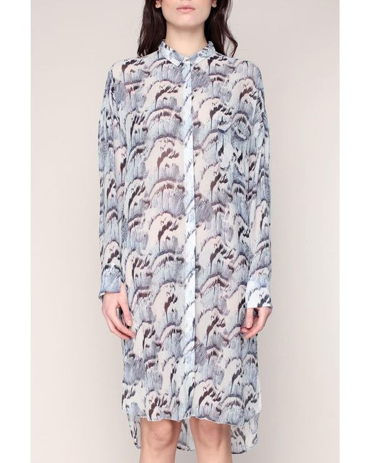 Lyst Valentine Gauthier Bohemian Dresses In Blue