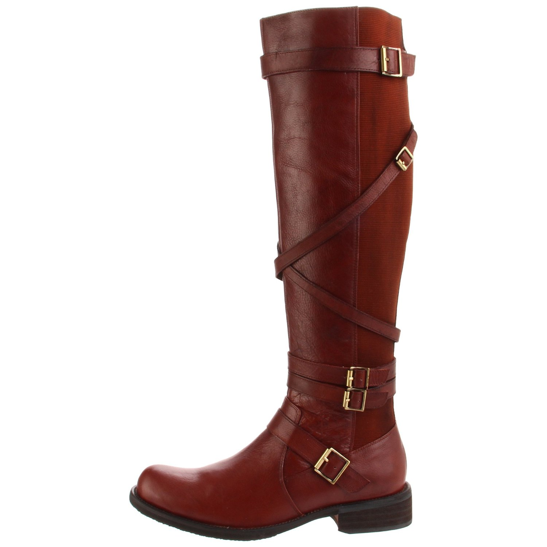 Miz Mooz Womens Kira Riding Boot In Brown